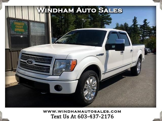 2010 Ford F-150 Supercrew Platinum 4WD