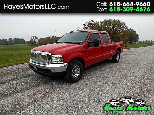 2004 Ford F-250 SD XLT Crew Cab Short Bed 2WD