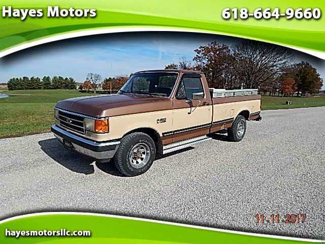 1990 Ford F-150 S Reg. Cab Short Bed 2WD