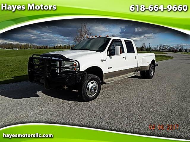 2005 Ford F-350 SD King Ranch Crew Cab Long Bed DRW 4WD
