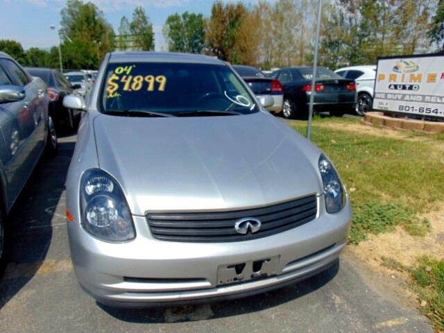 2004 Infiniti G35 Sedan