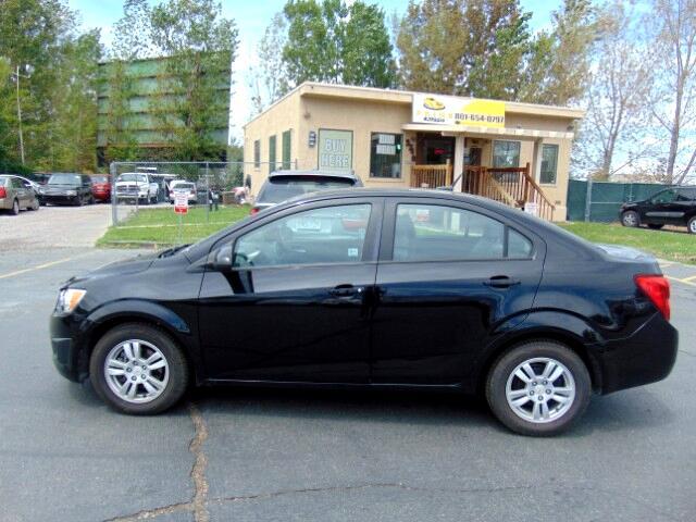 2012 Chevrolet Sonic 1LS Sedan
