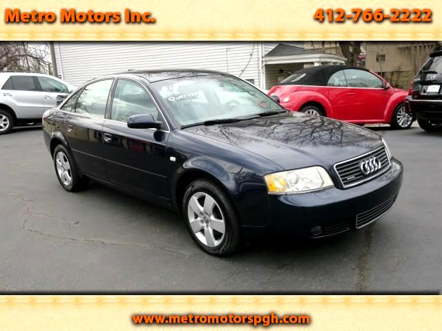 2004 Audi A6 3.0 V-6 Quattro with Tiptronic