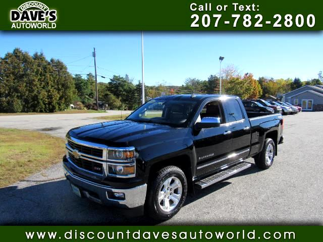 2014 Chevrolet Silverado 1500 LTZ Double Cab Short Box 4WD