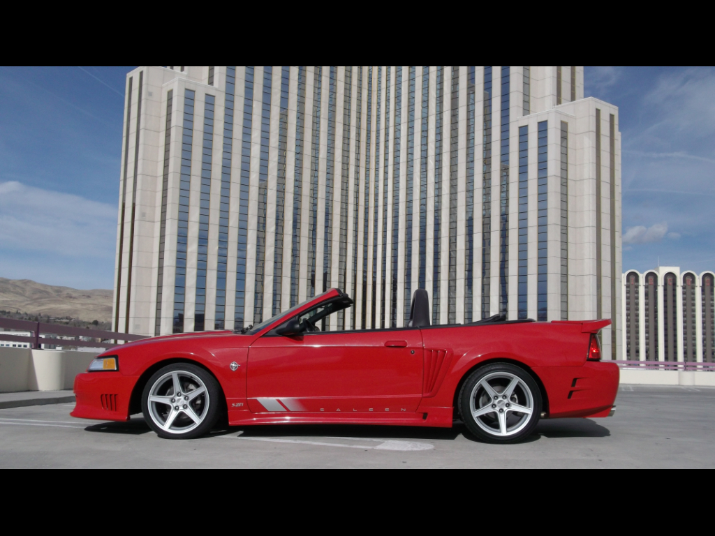 1999 Ford Saleen Mustang