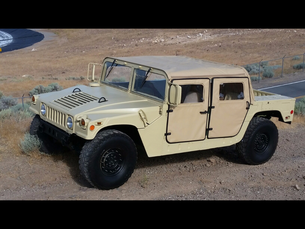 1987 AM General Hummer Open Top 4-Door