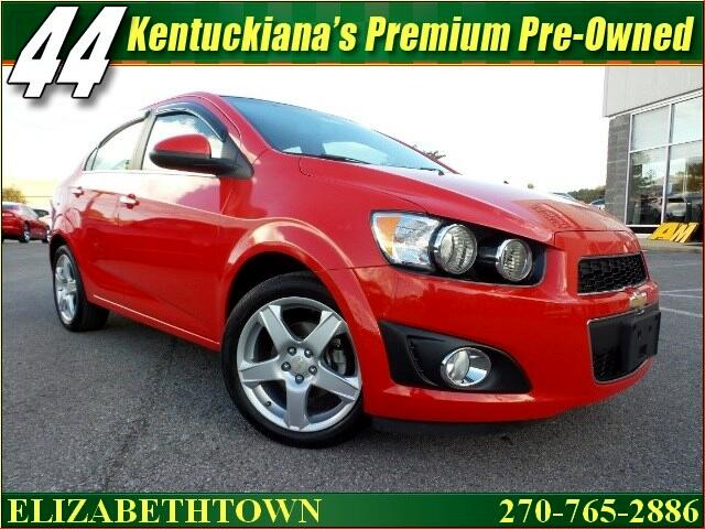 used 2015 chevrolet sonic ltz auto sedan for sale in elizabethtown ky 42701 44 auto mart. Black Bedroom Furniture Sets. Home Design Ideas