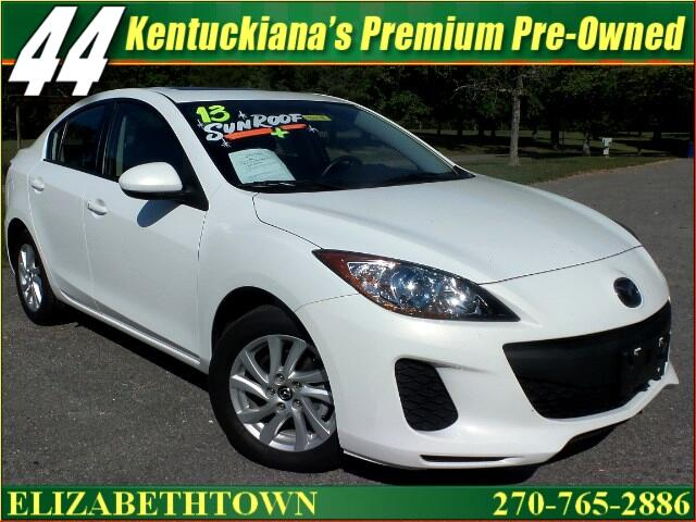 2013 Mazda MAZDA3 I Grand Touring MT 4-Door