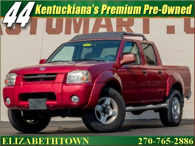 2001 Nissan Frontier SE V6 Crew Cab 4WD