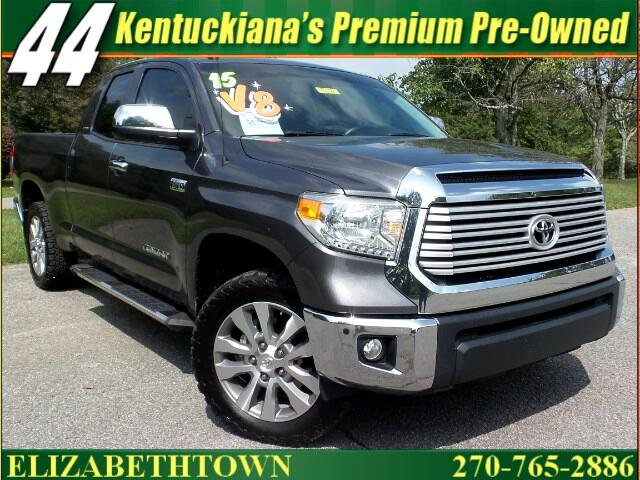 2015 Toyota Tundra Limited 5.7L FFV Double Cab 4WD