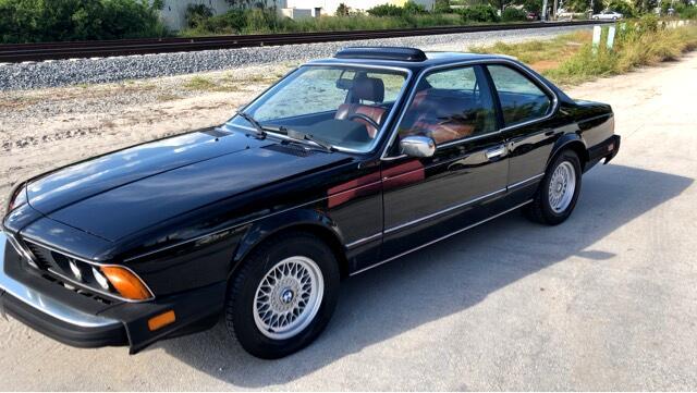 1983 BMW 6-Series 633CSI automatic