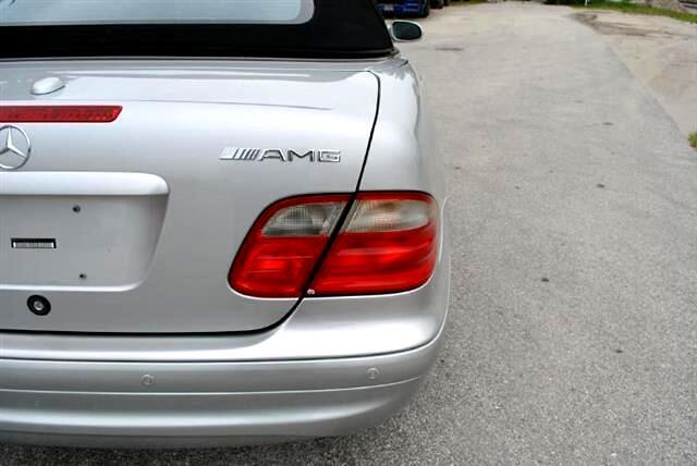 2002 Mercedes-Benz CLK-Class CLK55 AMG Cabriolet