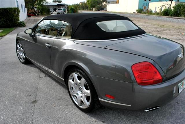 2008 Bentley Continental GTC Convertible