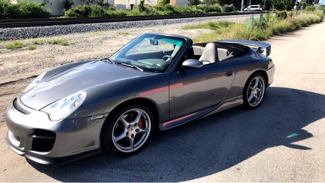 2004 Porsche 911 2dr Cabriolet Carrera 4