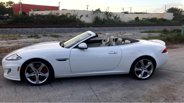 2014 Jaguar XK-Series XKR Convertible