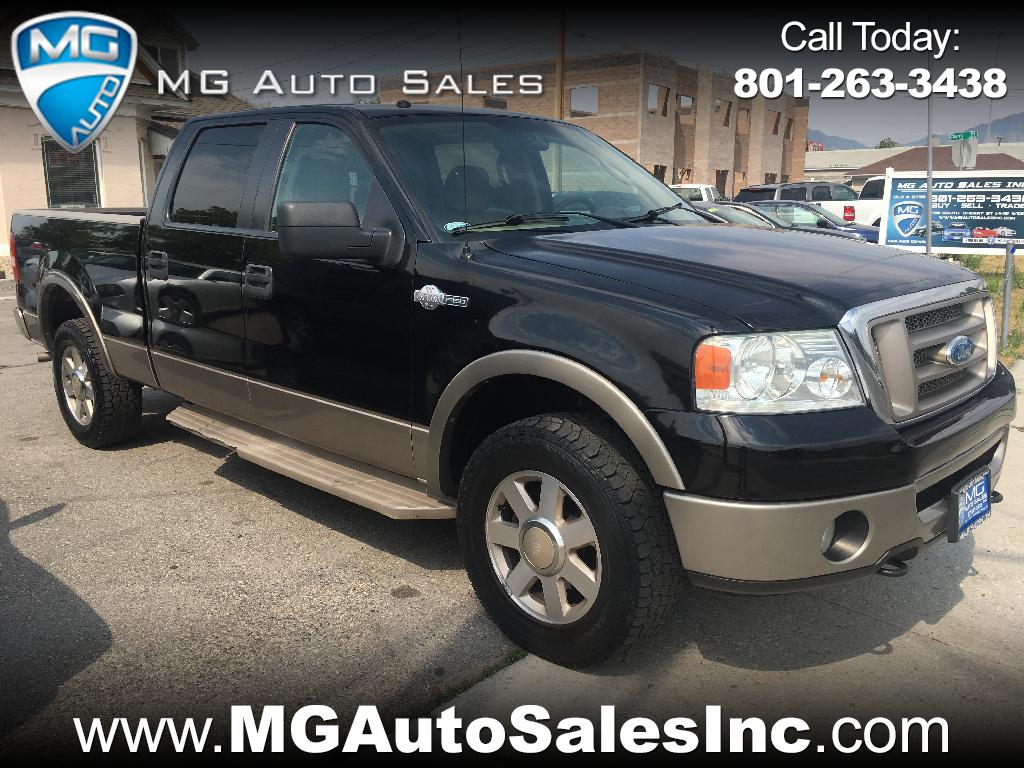 "2006 Ford F-150 4WD SuperCrew 150"" King Ranch"