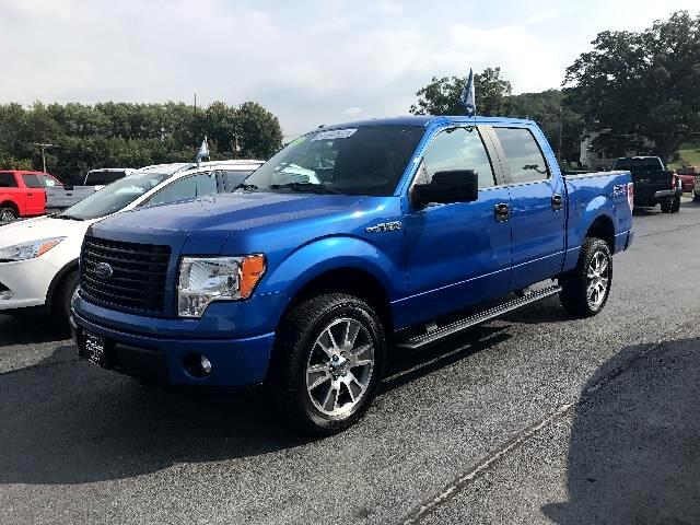 2014 Ford 150 XL SuperCrew 5.5-ft. Bed 4WD