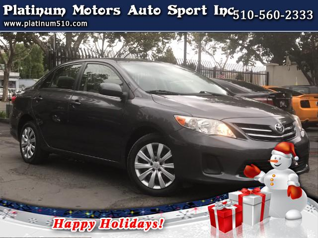 2013 Toyota Corolla LK  Just Arrived  2013 Toyota Corolla LE Sedan  WOW  What A Car  Must SE