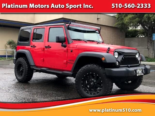 2015 Jeep Wrangler Unlimited 1 Owner Many Upgrades 36K Miles Call Now