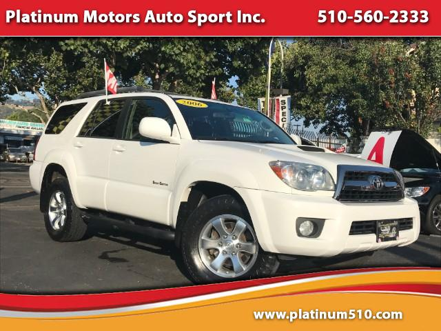 2006 Toyota 4Runner  LK  Just Arrived  2006 Toyota 4Runner Sport Edition 2WD -  WOW  What A