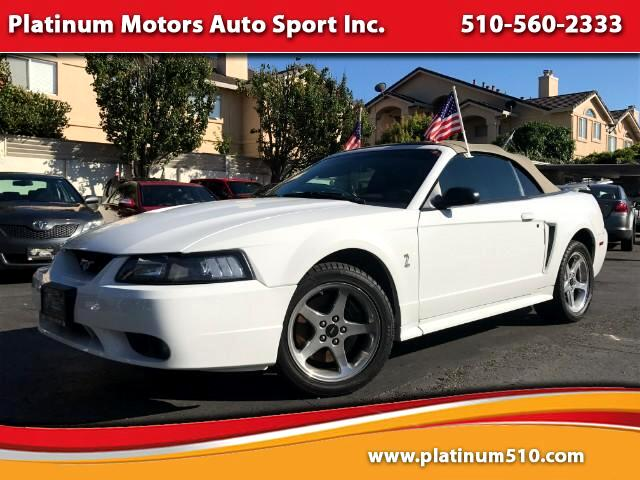 2001 Ford Mustang SVT Cobra Convertible Only 63K Miles Hard To Find