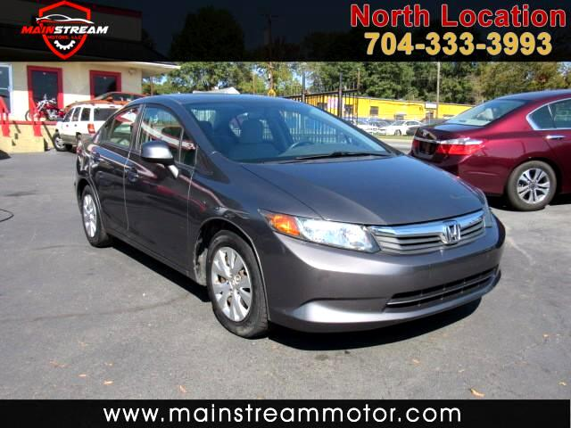 2012 Honda Civic LX Sedan 5-Speed MT