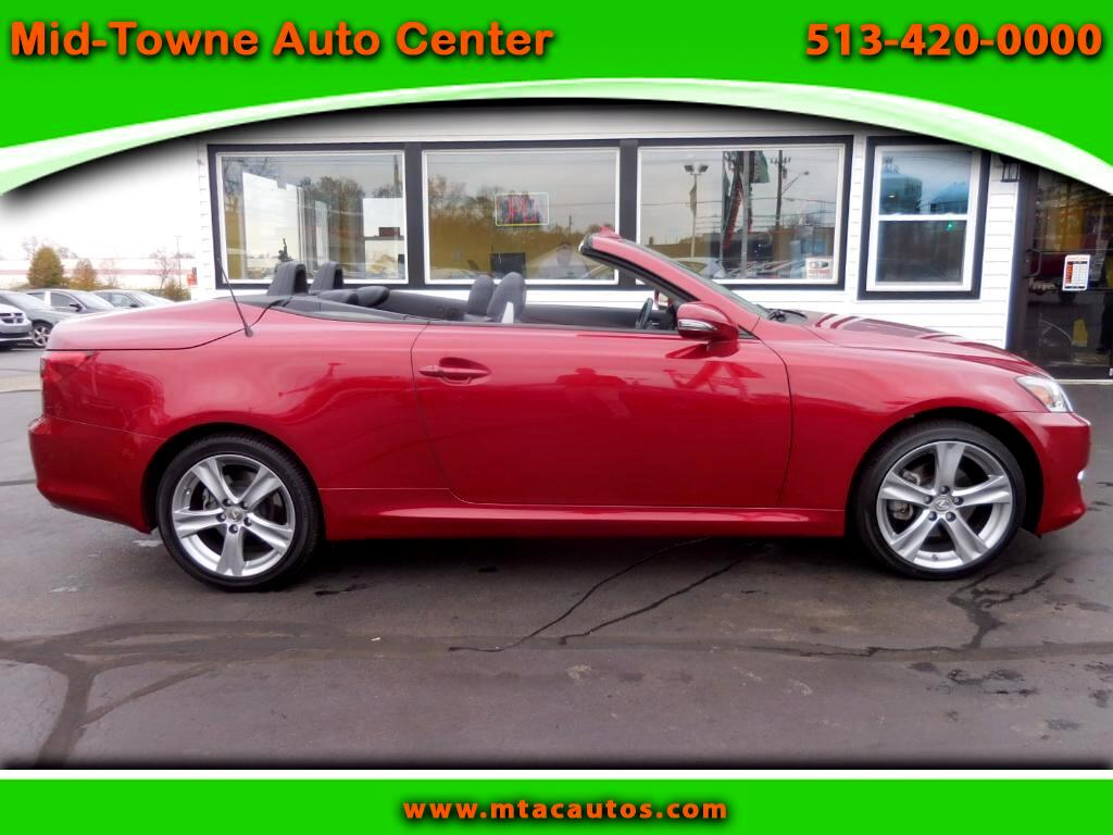2013 Lexus IS 250C 2dr Conv Auto