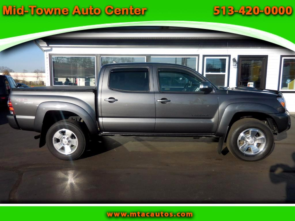 2012 Toyota Tacoma TRD Sport Double Cab V6 4WD