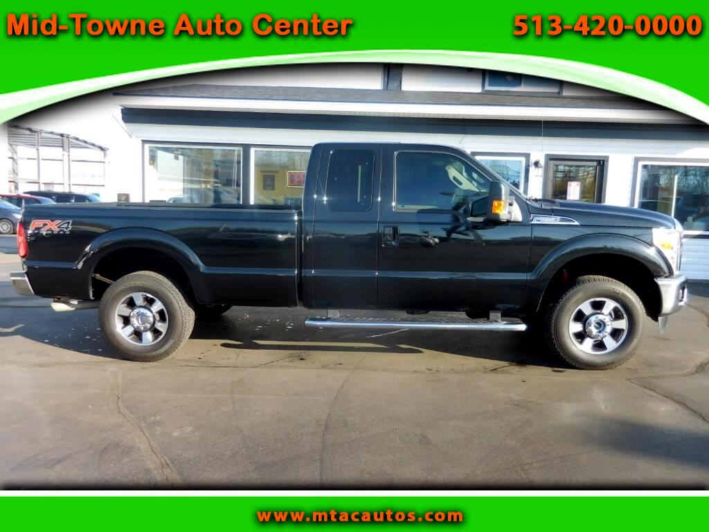 2015 Ford F-250 SD Lariat FX4 SuperCab Long Bed 4WD