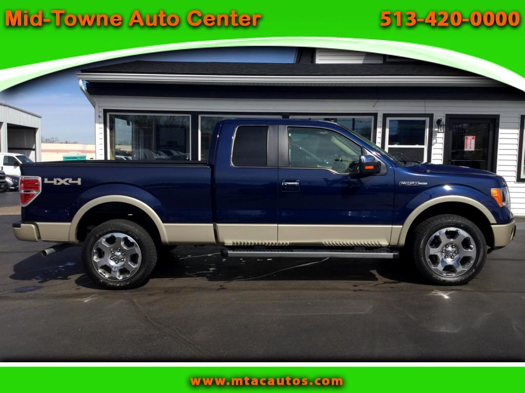 2010 Ford F-150 Lariat SuperCab 4WD