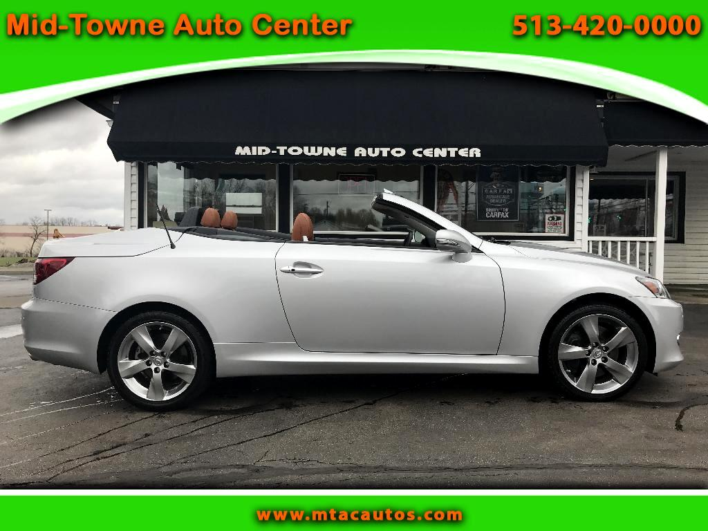 2011 Lexus IS C 350