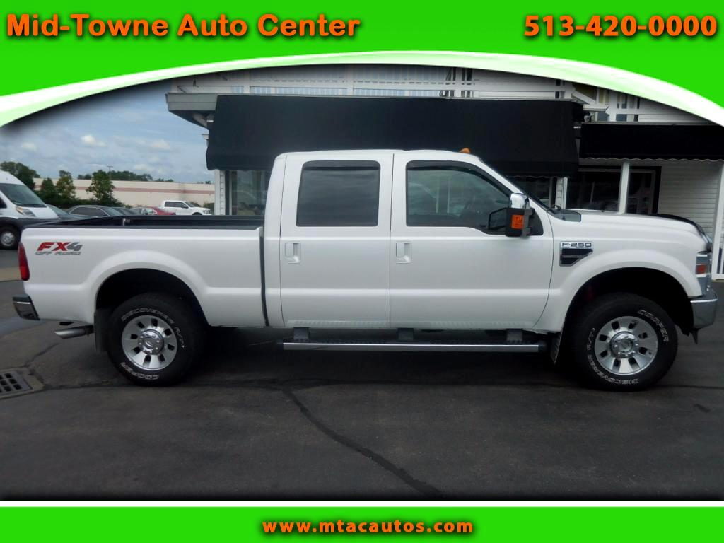 2010 Ford F-250 SD Lariat FX4 SuperCrew 6.5 ft Bed 4WD