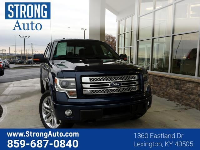2014 Ford F-150 4WD SUPERCREW 145  LIMITED
