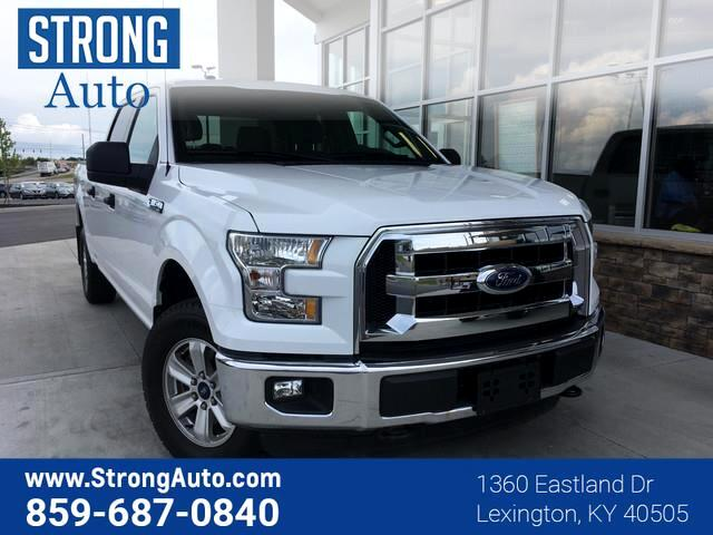 2015 Ford F-150 4WD SUPERCREW 157  XLT