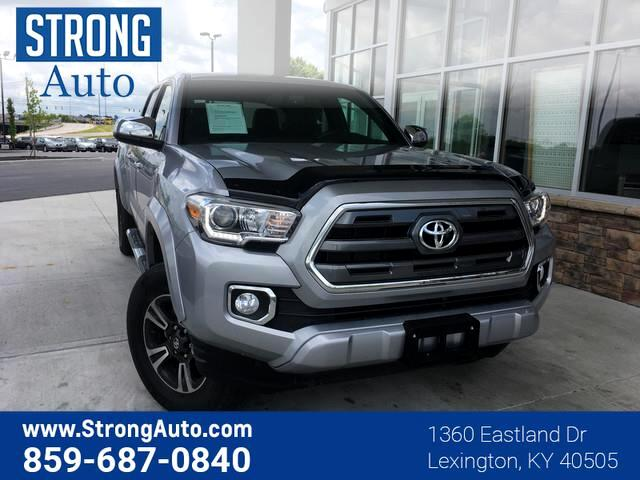 2016 Toyota Tacoma 4WD DOUBLE CAB V6 AT LIMI