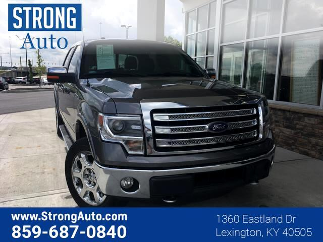 2014 Ford F-150 4WD SUPERCREW 145  LARIAT