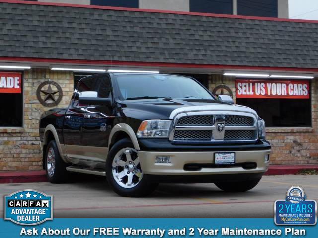 2011 RAM 1500 Laramie Longhorn Crew Cab 4wd