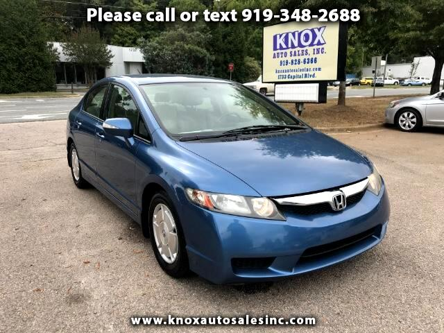 2010 Honda Civic Hybrid CVT AT-PZEV