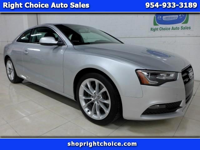 2014 Audi A5 Coupe 2.0T quattro Manual