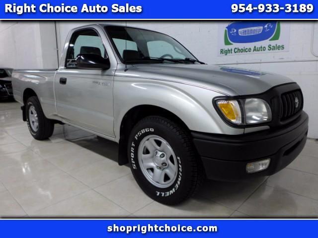 2002 Toyota Tacoma 2WD