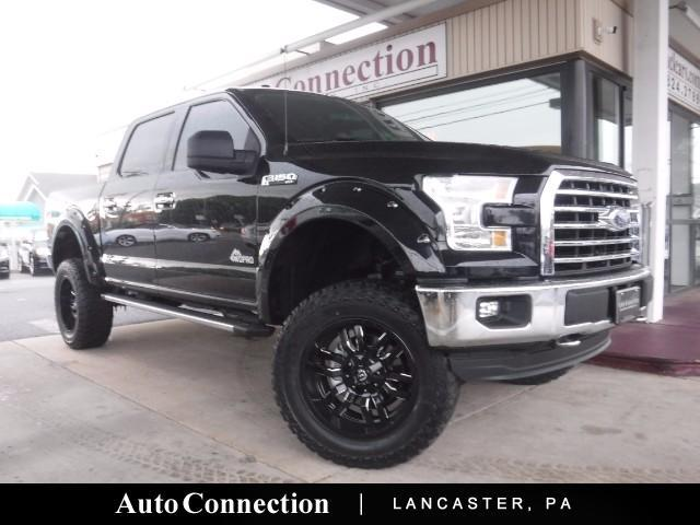 2016 Ford F-150 XLT SuperCrew 5.5-ft. Bed LIFTED 4WDPRO EDITION