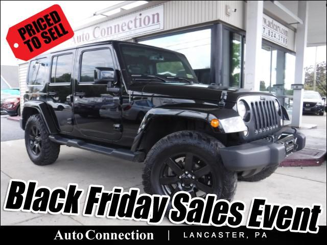 2014 Jeep Wrangler Unlimited Sahara Altitude 4WD LIFTED