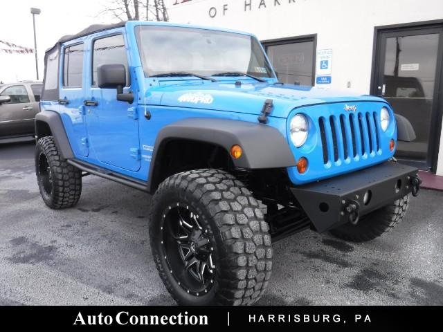 2011 Jeep Wrangler Unlimited Sport LIFTED 4WD PRO Edition