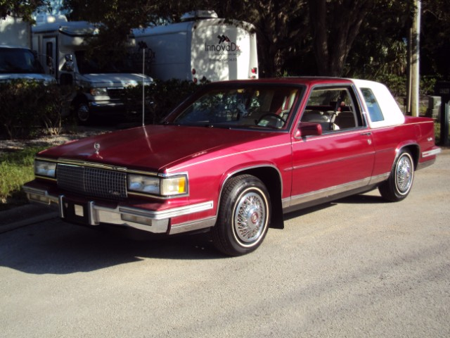 1988 Cadillac DeVille Coupe