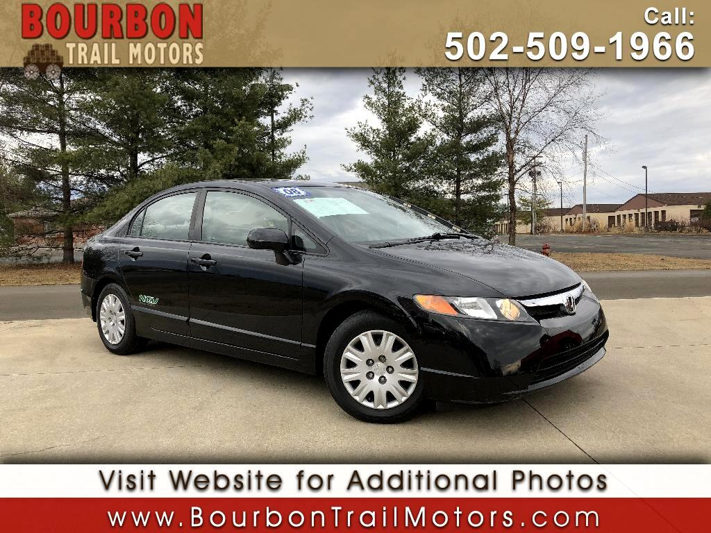 2008 Honda Civic GX Sedan AT