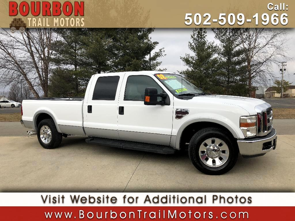 2008 Ford F-350 SD Lariat Crew Cab Long Bed 2WD