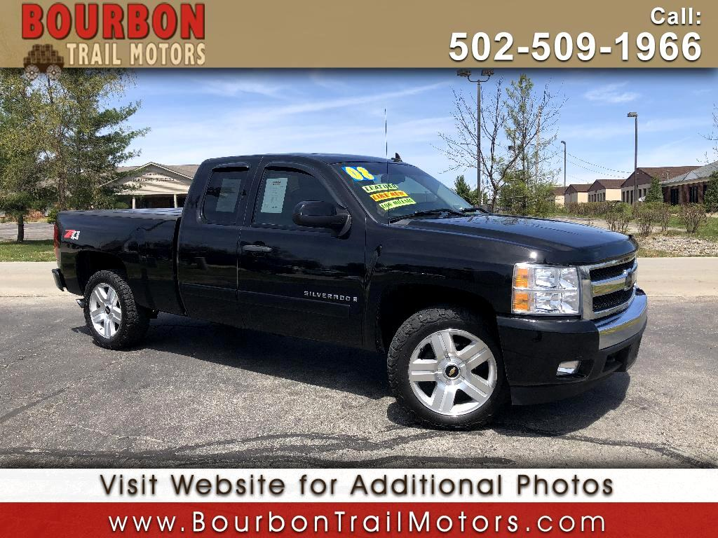 2008 Chevrolet Silverado 1500 Ext Cab 143.5