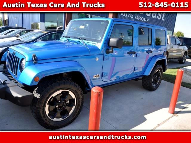 2014 Jeep Wrangler Unlimited Sahara 4WD Polar Edition