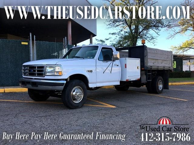1996 Ford F-450 SD Power Stroke Super Duty Dump