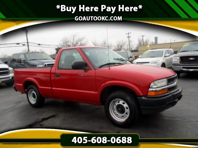 2000 Chevrolet S10 Pickup Short Bed 2WD